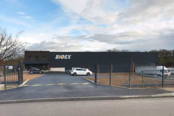 Gebäude bioex