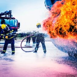 Aircraft fire fighting foam concentrate
