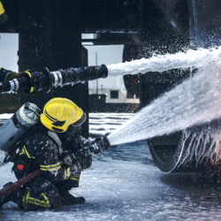 Aircraft firefighting foam concentrate
