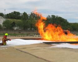 indirect foam application