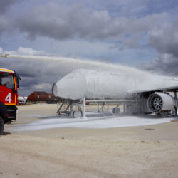 Schaummittel für die Brandbekämpfung auf Flughäfen