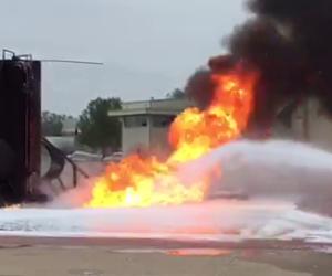 emulseur anti incendie ecopol a aeroport dallas