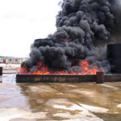 feu d'hydrocarbures de classe B