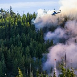 Fluorfreies Schaummittel Helikopter