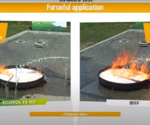 comparaison ECOPOL F3HC vs AFFF